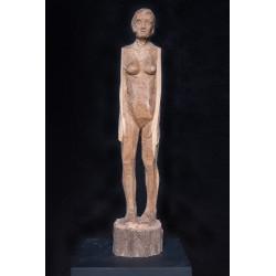 Figur in Holz ohne Titel